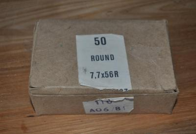 boites de munition en 303 British de surplus