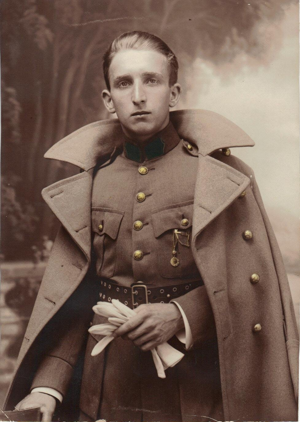 Maurice steuve service militaire