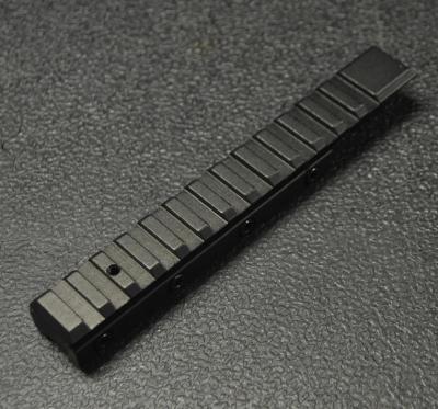 adaptateur 1 pièce rail 11 vers weaver pica