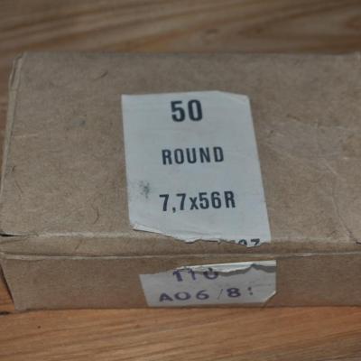 boites de munition en 303 British de surplus