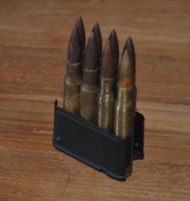 clip garand de 8 munitions en 30-06 WWII