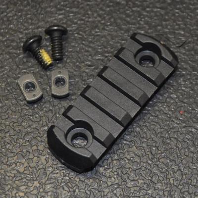 M-lok 5 slot polymère