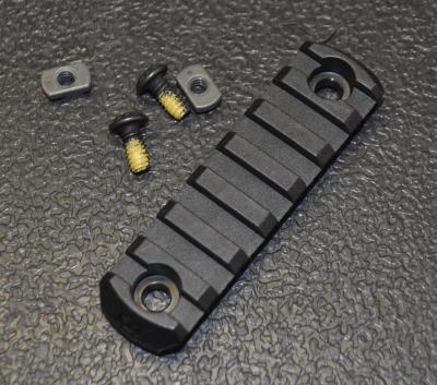 M-lok 7 slot polymère
