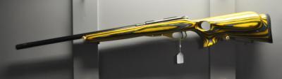 CZ 455 Thumbhole yellow --  22 Lr