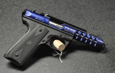 Ruger 22/45 Blue Light