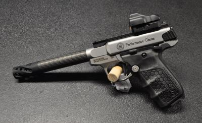 S&W Victory Performance carbone  center + red dot
