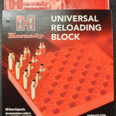 Hornady universal reloading block