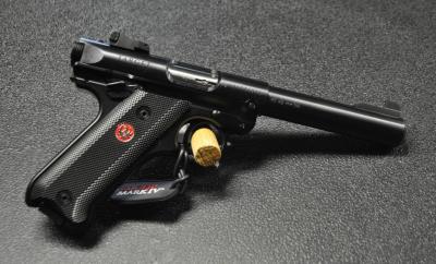 Ruger MK IV Target Blued